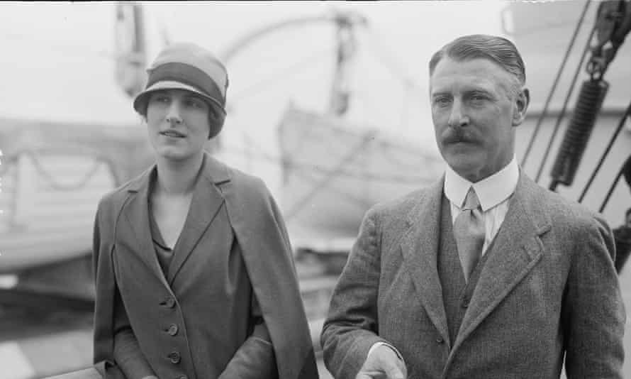 Sir Cecil Chubb, with his wife Mary