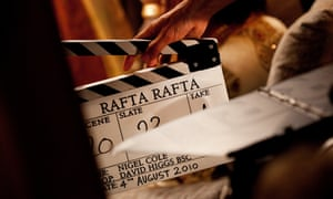 A film clap board