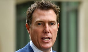 The attorney general, Christian Porter, says cases such as Israel Folau's would be dealt with under the proposed religious discrimination bill.