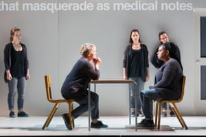 Muzak is among the most unnerving sounds in Philip Venables's operatic adaptation of the play 4:48 Psychosis.