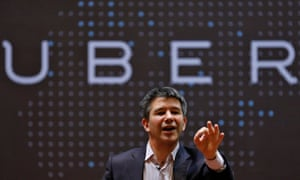 Uber CEO Kalanick. This is the second time in recent months Uber has admitted underpaying US drivers.