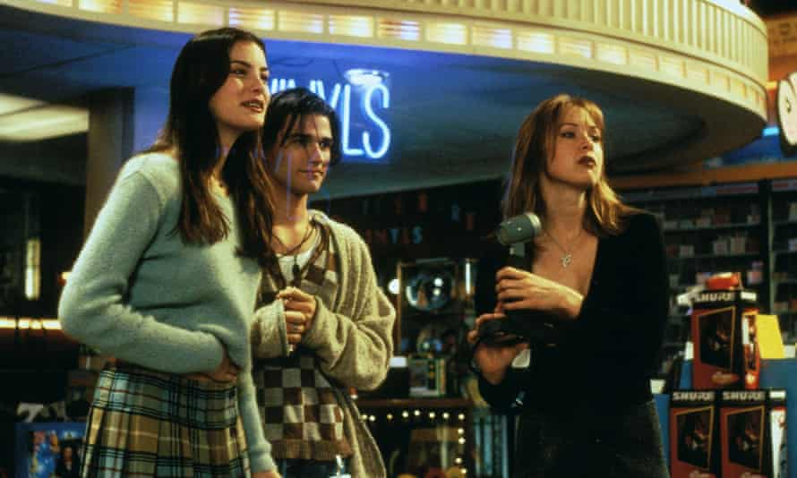 Liv Tyler, Johnny Whitworth and Renee Zellweger in Empire Records.
