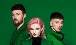 Clean Bandit in 2018: Jack Patterson, Grace Chatto and Luke Patterson