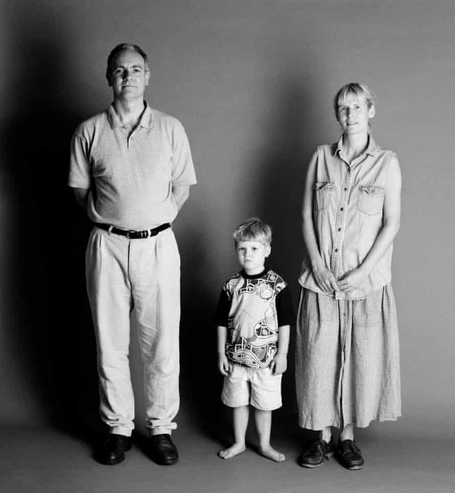 1995: Frank and Sue, 40, Eddie, four.