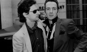Marc Zermati with the Clash's Joe Strummer.