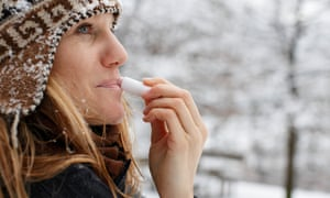 Some lip balms have addictive qualities.