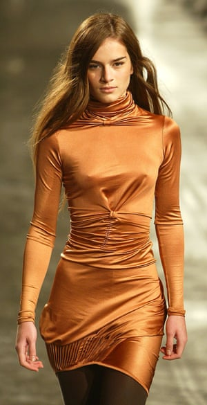 A Sophia Kokosalaki design from her autumn/winter 2004 collection at London fashion week.