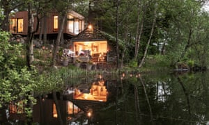 Tree House: réflexions du Gilpin Lake House Spa
