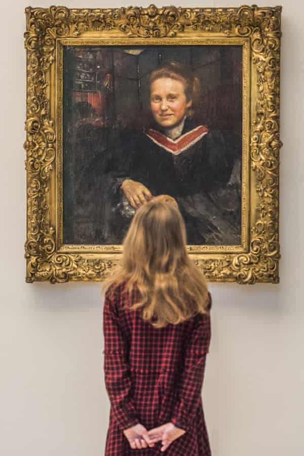 The portrait of Millicent Fawcett by Annie Swynnerton on display at Tate Britain in February.