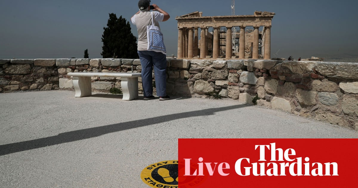 Coronavirus live news: Greece will reopen its borders to visitors from 29 countries in June