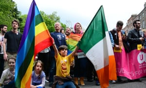 Irish marriage equality supporters.