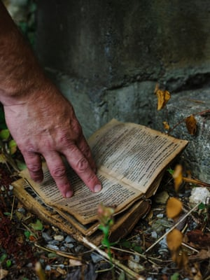 Abandoned book, Webster County, West Virginia.