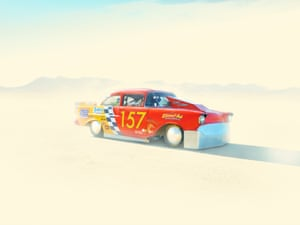Photographs of cars from the El Mirage car racing weekend in California by London photographer Wilson Hennessy.