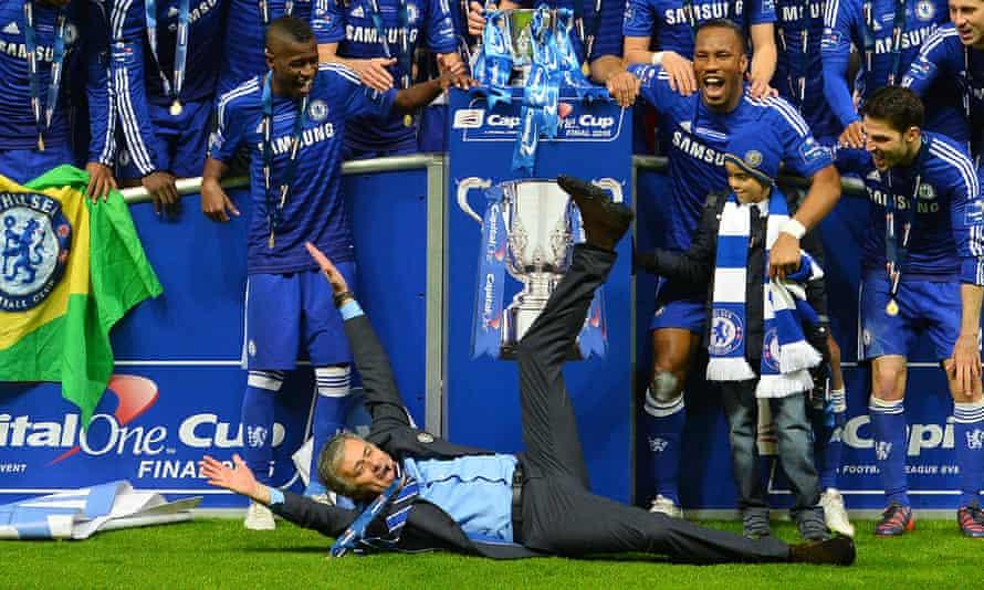 José Mourinho in happier times.