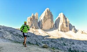 Peak challenge … Lavaredo Ultra Trail.