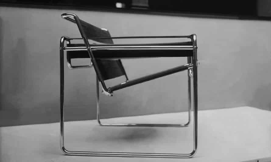 Wassily Chair, B3, designed by Marcel Breuer at Bauhaus School.