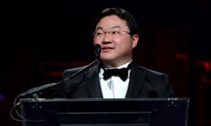 Financier Jho Low speaks in New York.