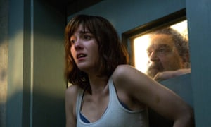Bunker buddies ... Mary Elizabeth Winstead and John Goodman in 10 Cloverfield Lane