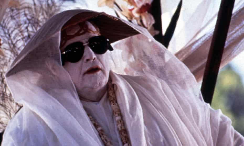 Marlon Brando in The Island of Dr Moreau, 1996