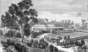 Glenormiston, a house built on the site of a massacre of Aboriginal people in 1839 in what is now western Victoria.