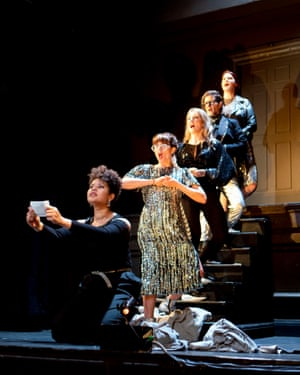 Singers from Kimmings's operetta To Mother Alone, featured in Opera Mums.