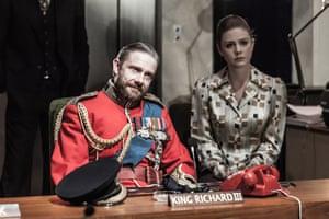 Martin Freeman and Lauren O'Neil, Richard III, 2014
