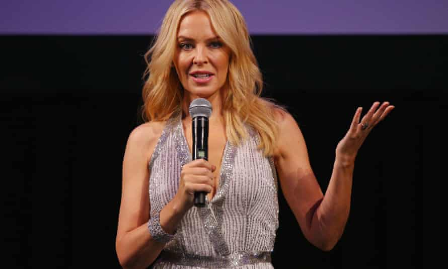 Kylie Minogue has described Australia as 'backward' on marriage equality.