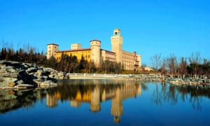 I capture the castle: the Italianate Chateau Reina in Changyu, home of Augusto Reina.