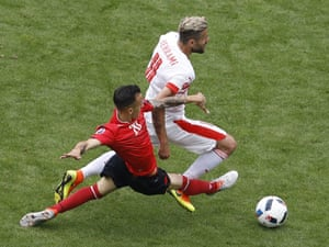 And then Kace slides in to floor Behrami.