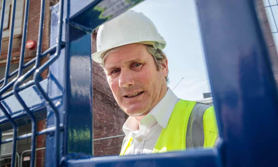 Keir Starmer visits Sheffield before May's local elections.