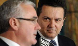 Andrew Wilkie, left, and Nick Xenophon