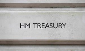 The HM Treasury building in central London