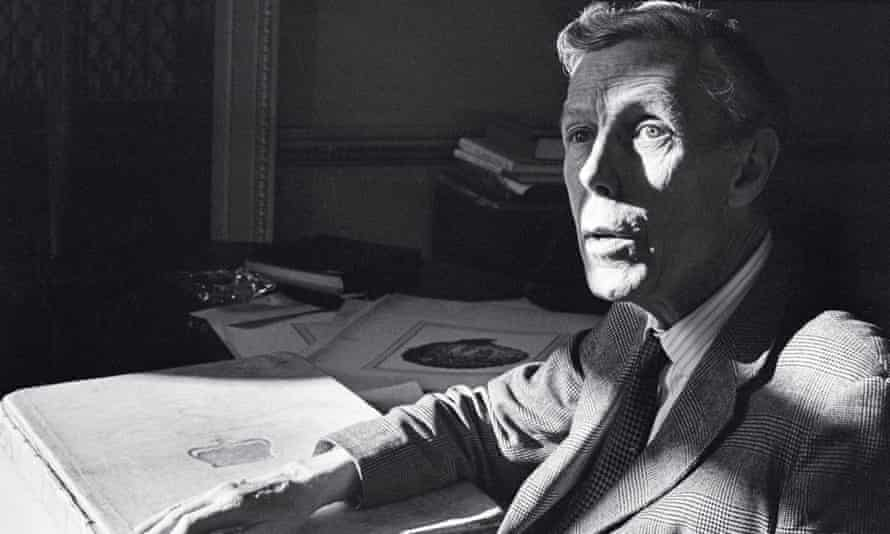 Anthony Blunt in 1968. James Hanning's book offers fresh material about Blunt's spying activities as late as 1962.