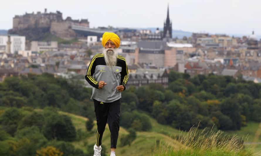 Fauja Singh, the World's Oldest Marathon Runner