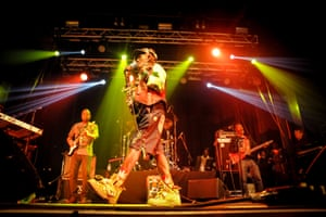 Lee 'Scratch' Perry performing at the Electric Ballroom in London in 2016.