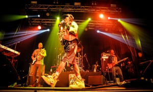 Cosmic one-off … Lee 'Scratch' Perry at the Electric Brixton, London.
