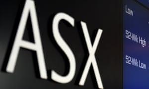 Australian stock market hits record high, beating level set