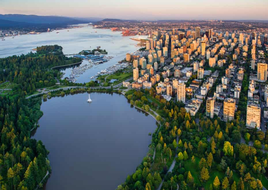 Vancouver, Stanley Park and Lost Lagoon.