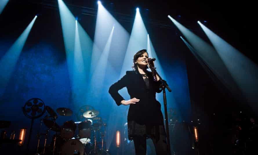 Dolores O'Riordan performing in Berlin in 2017.