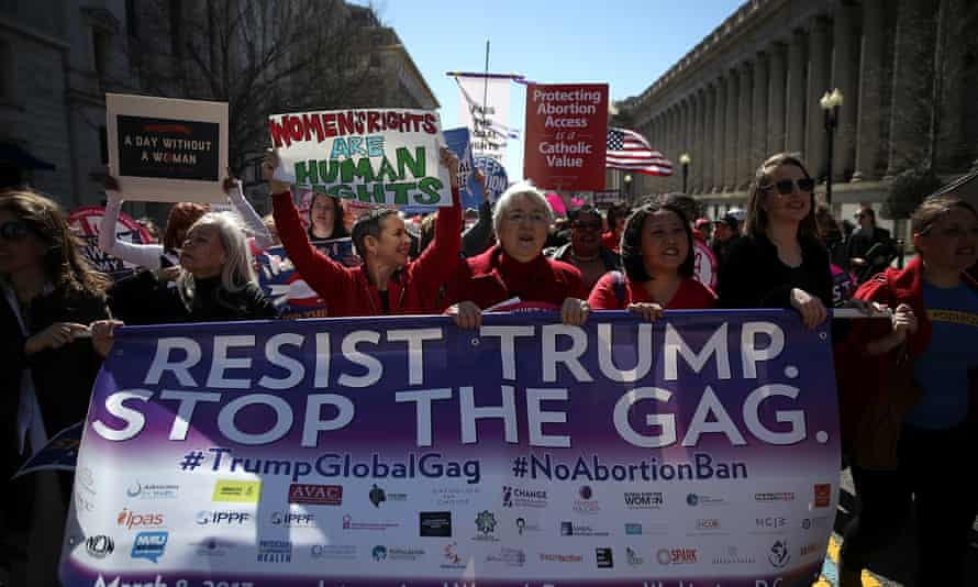 The policy demands NGOs vow not to perform or promote abortions anywhere in the world if they are to receive money from US family planning funds.