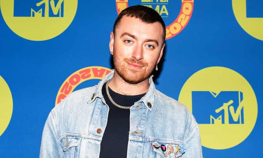 Sam Smith at the MTV EMAs in November 2020.