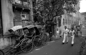 Bengali literature and cinema born in Calcutta all through the twentieth century is full of references and images of the rickshaw as a vital part of city life.