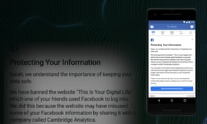 How to check whether Facebook shared your data with Cambridge