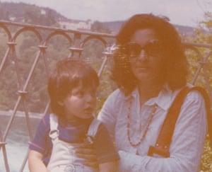 Rachel and her mother Maureen, in 1973.