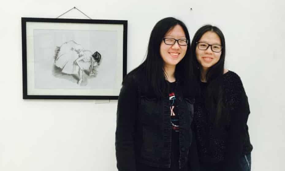 Lauren Gao and Cui Yuxiao