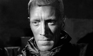 Max von Sydow in The Seventh Seal, 1957, directed by Ingmar Bergman.
