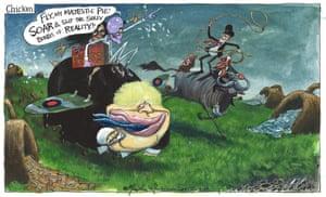 Martin Rowson cartoon 20 August 2019