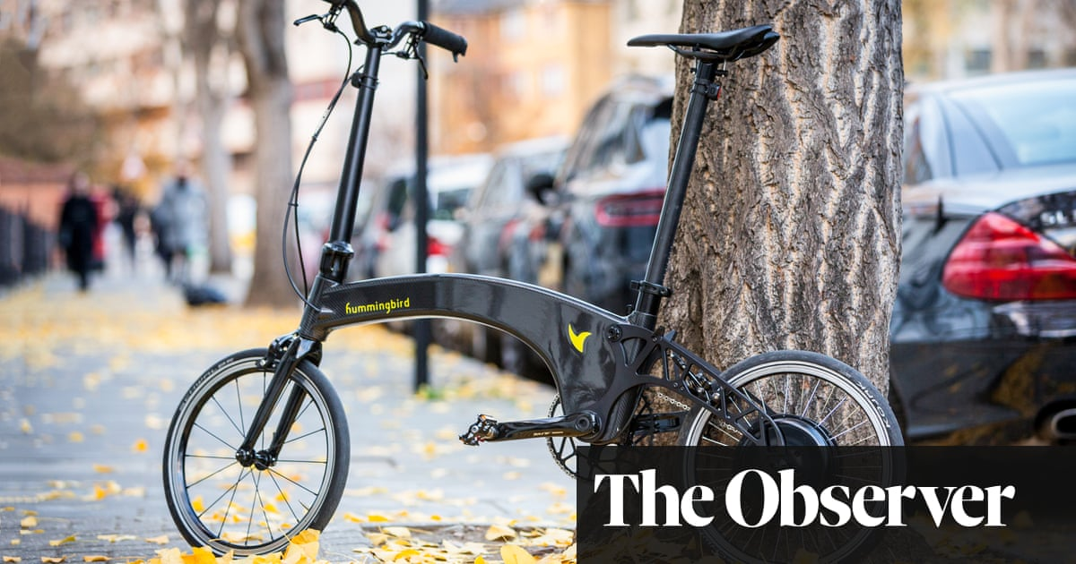 0ef88d4767a Hummingbird: 'The world's lightest – and possibly sexiest – folding  electric bike'