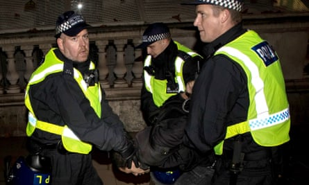 Budget cuts have meant police officer numbers declining by over 20,000 since the Conservatives got to power in 2010.