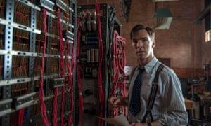 Benedict Cumberbatch plays Alan Turing in The Imitation Game